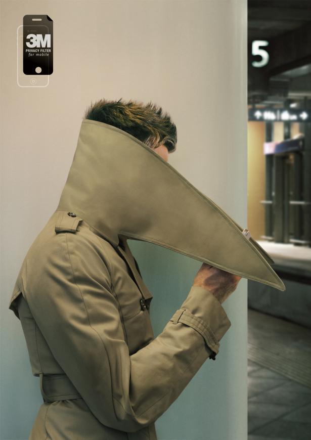 3M Filtro de privacidad: Sólo para sus ojos. Por DDB, Singapur