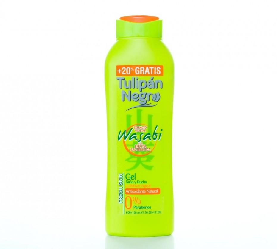 Diseño y adaptación de línea Tulipán Negro Wasabi para packaging de gel
