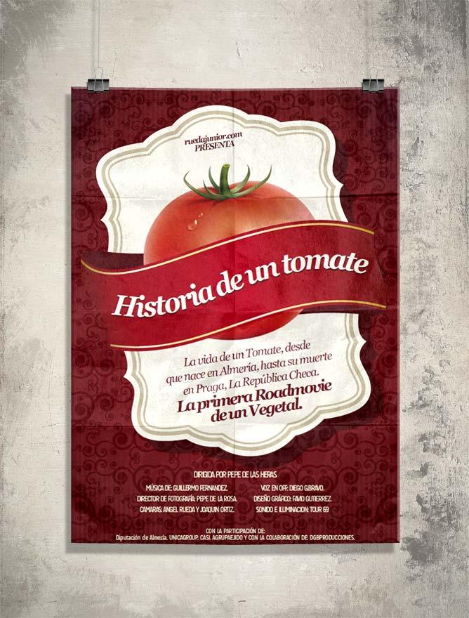 Diseño de poster para promoción del film