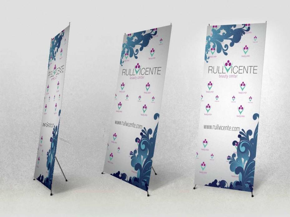 Imagen corporativa / Diseño de banner expositor