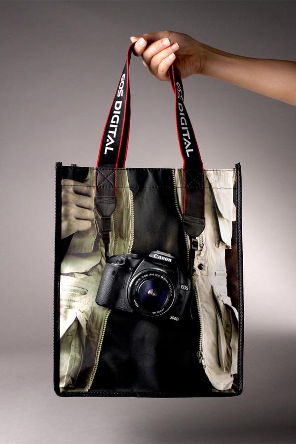 Bolsa promocional de Canon EOS 500D