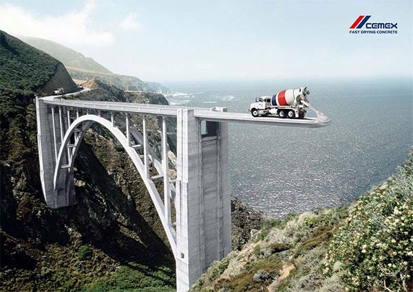 Cemex Hormigón: Bridge. Por BBDO Alemania