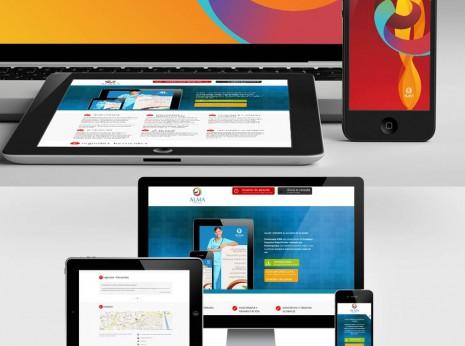Alma fisioterapia / adaptación web a terminales móviles