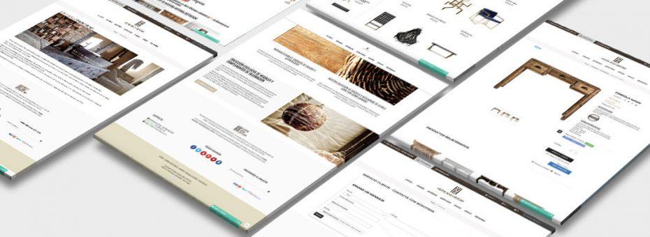 Diseño y desarrollo web tienda online prestashop - Home and History