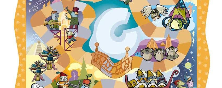 Ilustración digital publicitaria
