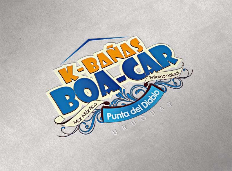 Boa-Car / Diseño de logotipo