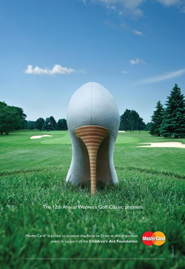 MasterCard Canadá: Mujeres Golf Classic. Por MacLaren McCann, Canadá