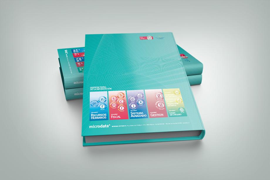 Diseño editorial / imagen corporativa aplicada en block de notas