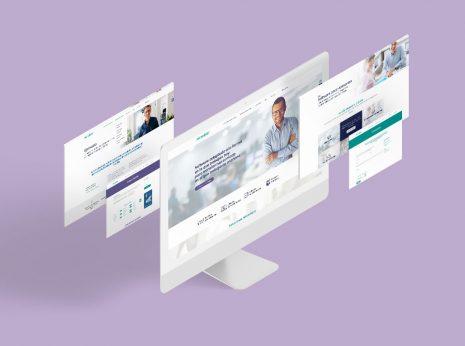 Diseño gráfico y rediseño web para Microdata