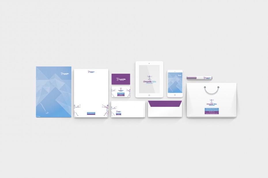 Diseño de logotipo - Aplicación de marca en papelería y marketing digital