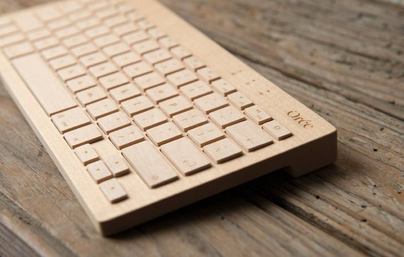 Orée Board, el primer teclado de madera - Diseño industrial ecológico