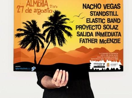 """Diseño de cartel para """"Maldito Sol Festival"""""""