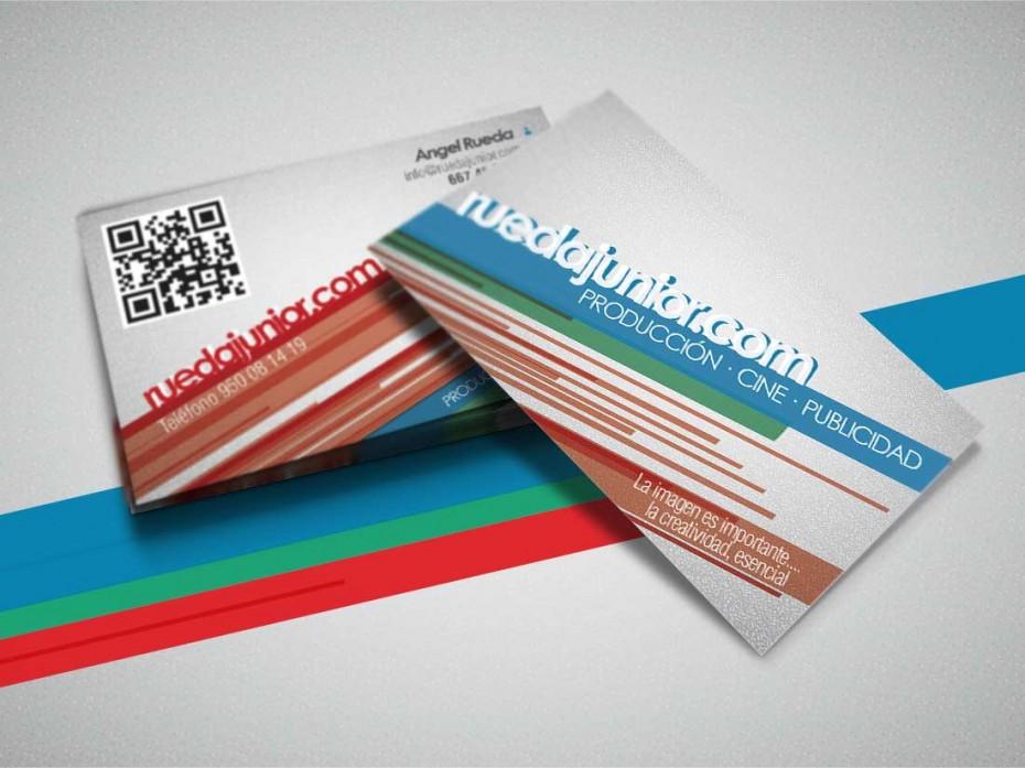 Rediseño e impresión de tarjetas comerciales (2012)