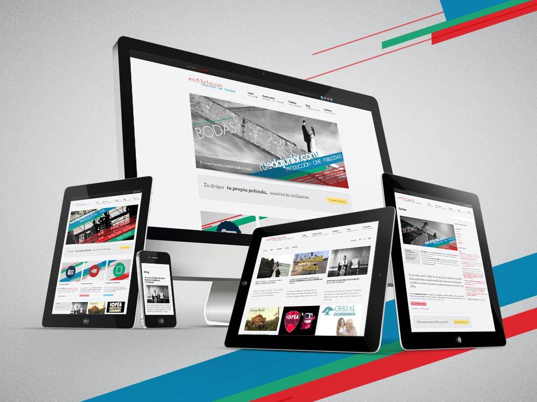 ruedajunior.com - Almería - Diseño web adaptado a plataformas móviles