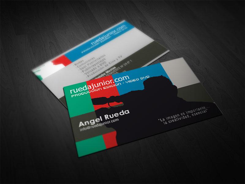ruedajunior.com / Diseño e impresión de tarjetas comerciales