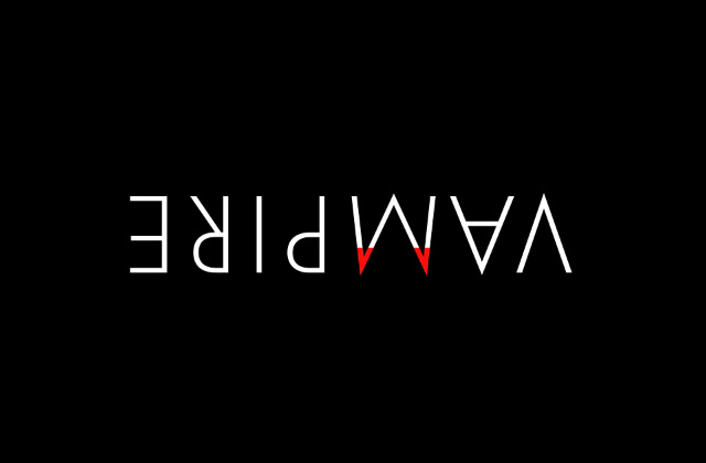 Vampire logotipo by Ji Lee