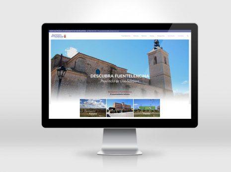 Diseño web para Ayuntamiento Fuentelencina