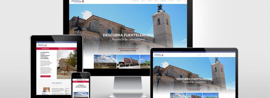 Diseño web responsive para Ayuntamiento Fuentelencina